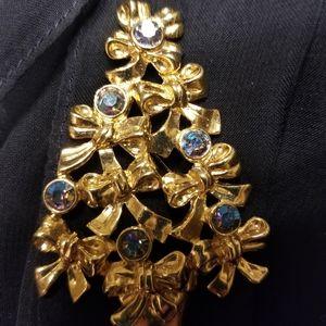 Jacket Christmas Brooch